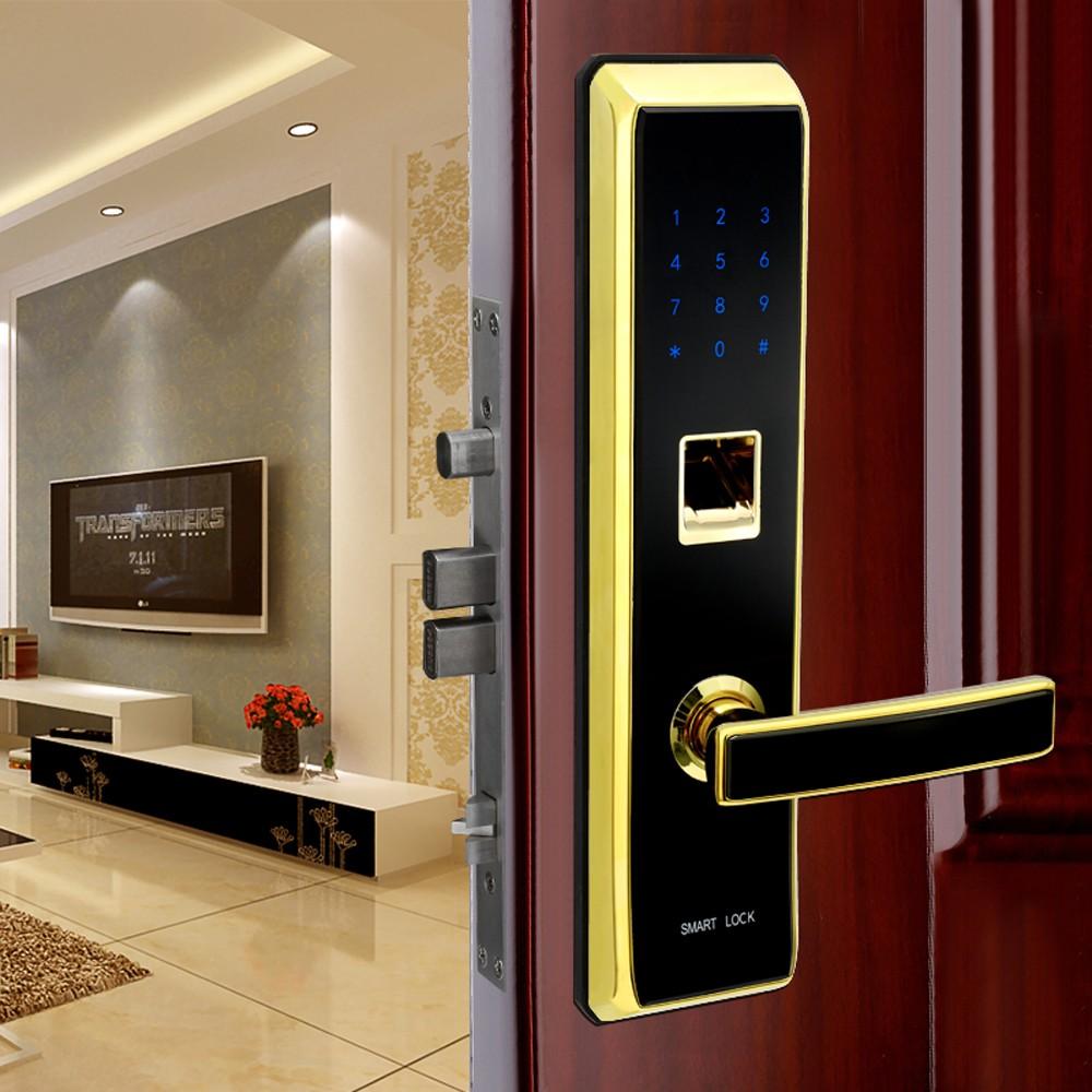 Lắp đặt khóa văn tay cho căn hộ chung cư